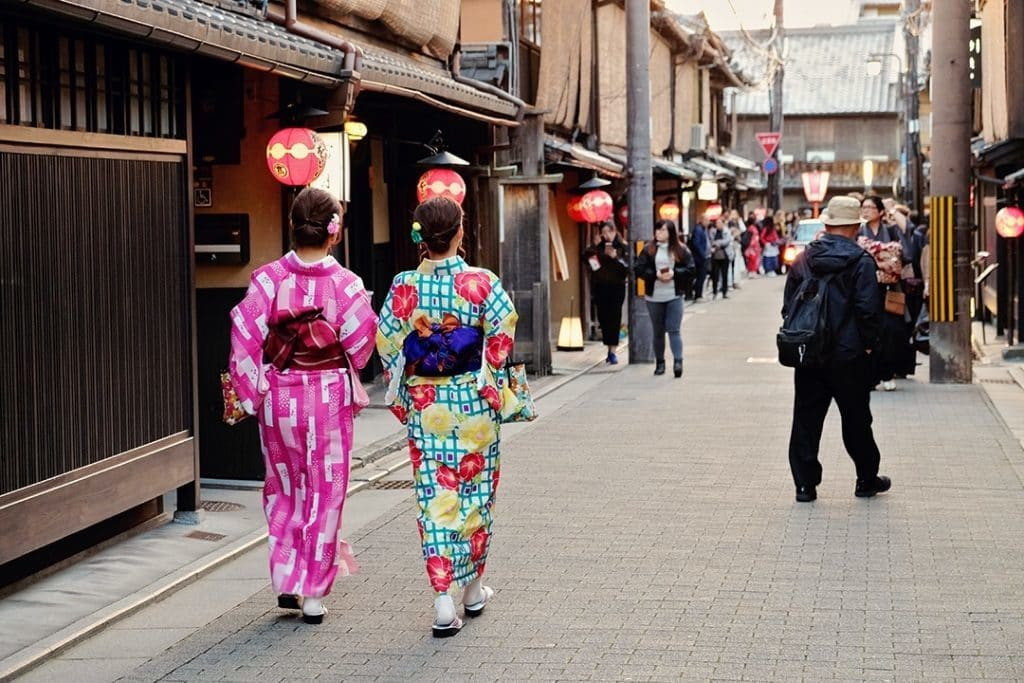 Osaka Day Trips to Kyoto Gion District