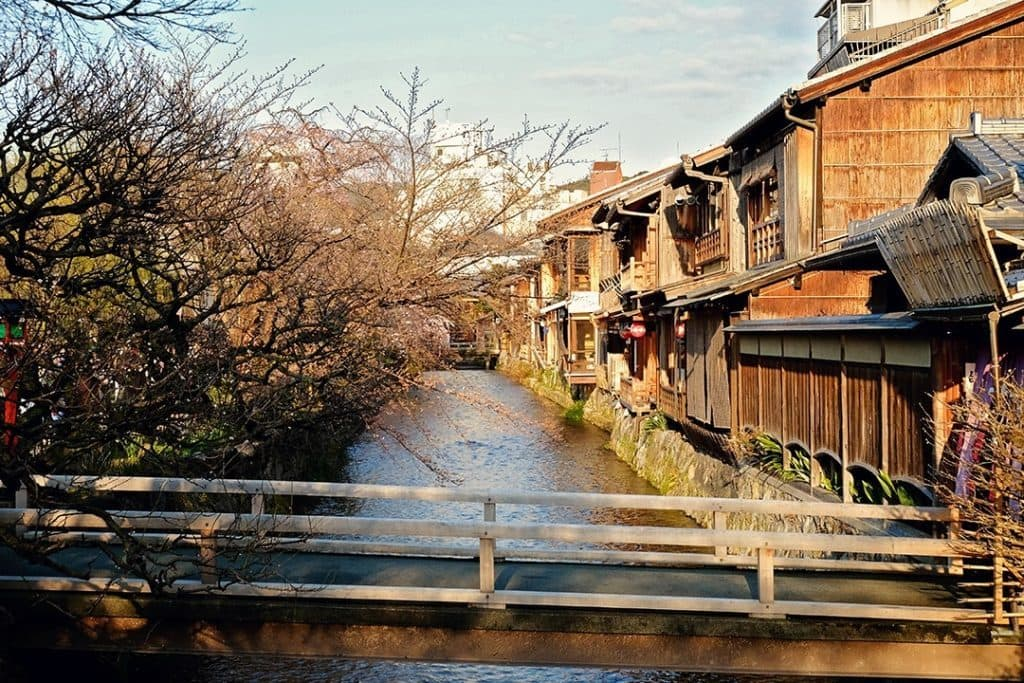Shimbashi Street Kyoto Japan