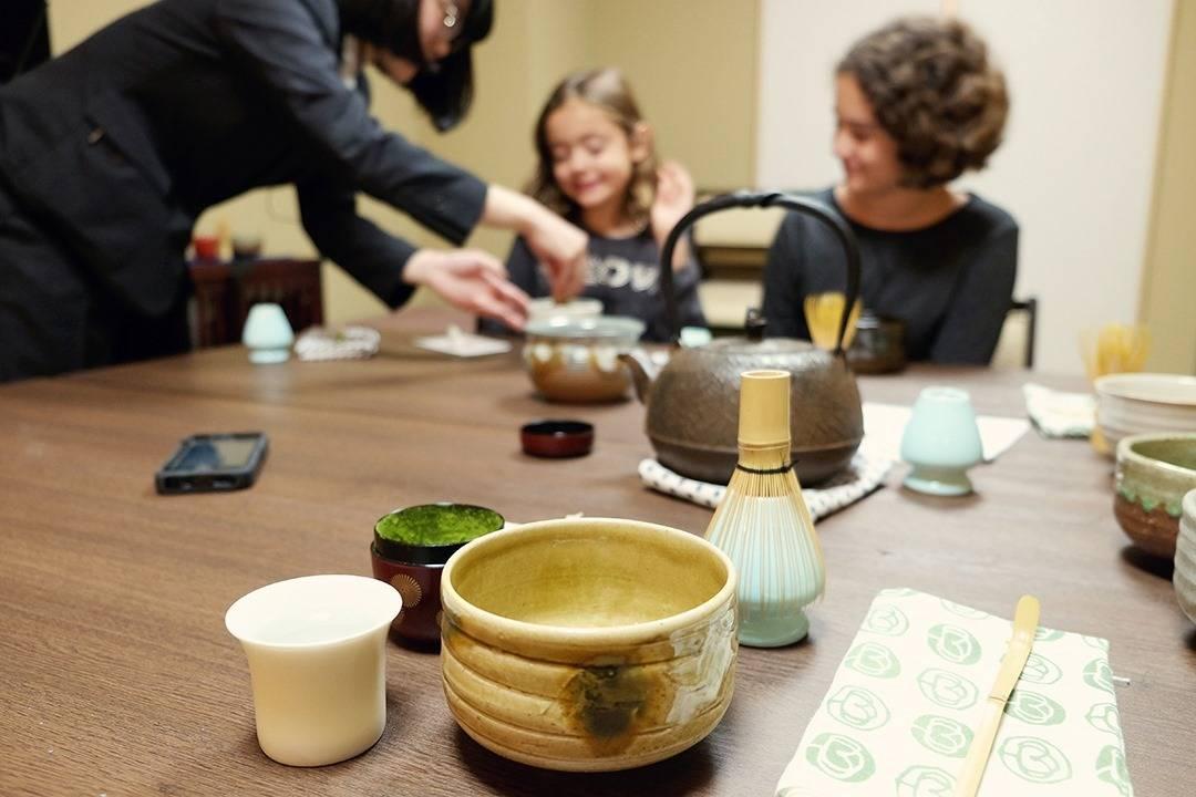Tea Ceremony Workshop at Shiba Park Hotel 151 Tokyo