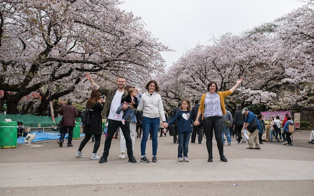 Ueno Park Cherry Blossom - Wanderlust Storytellers