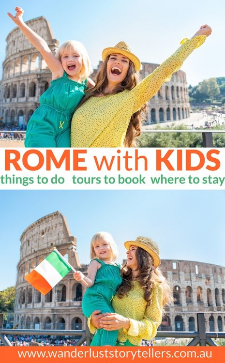 Top things to do in Rome with kids