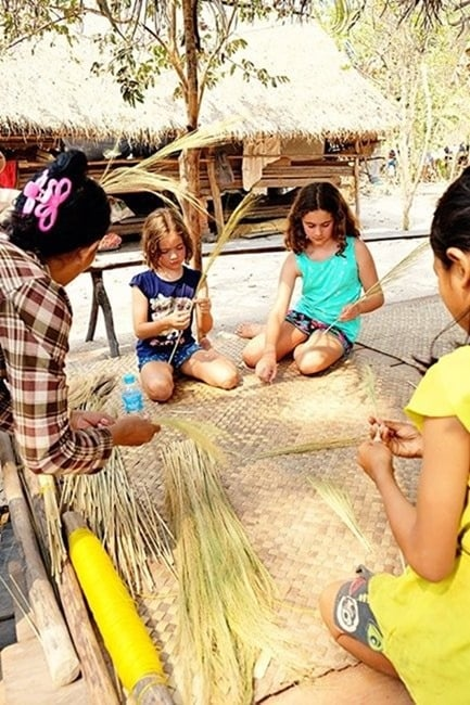 Cambodia-Tours-Making-Brooms-with-Kids-2