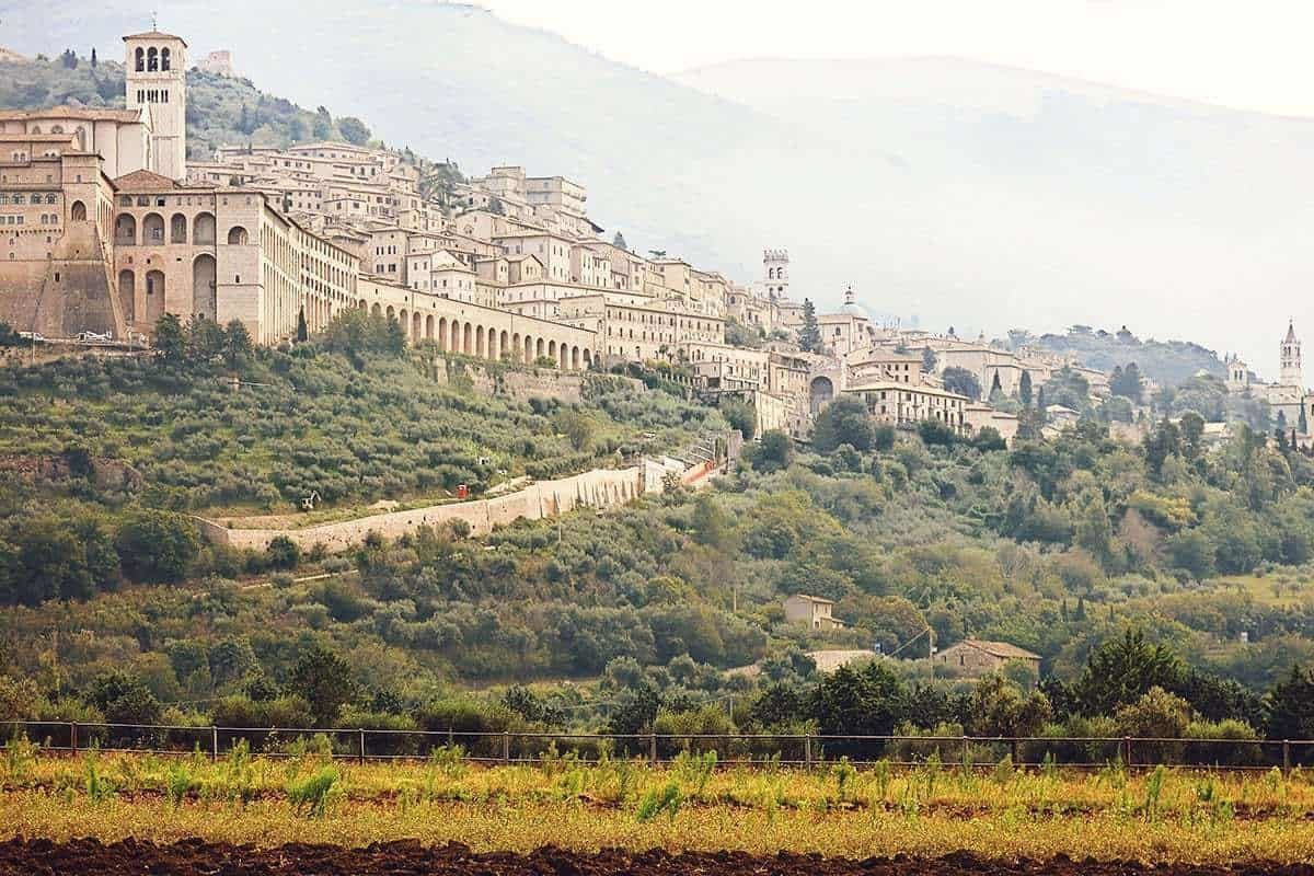 Assisi in Northern Italy Europe