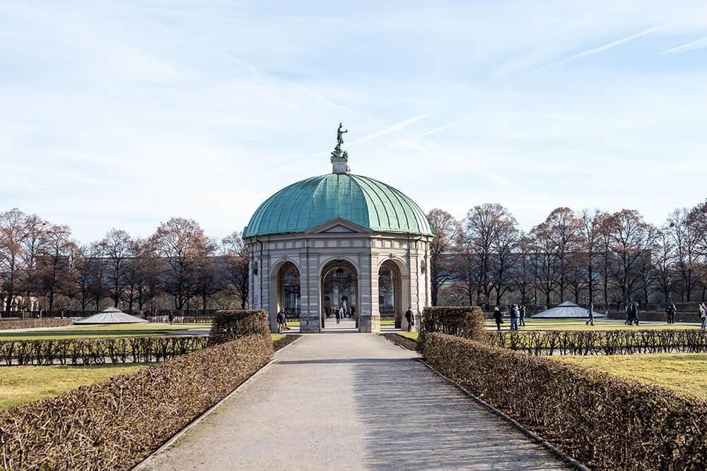 Mnchen - Pavillion im Hofgarten