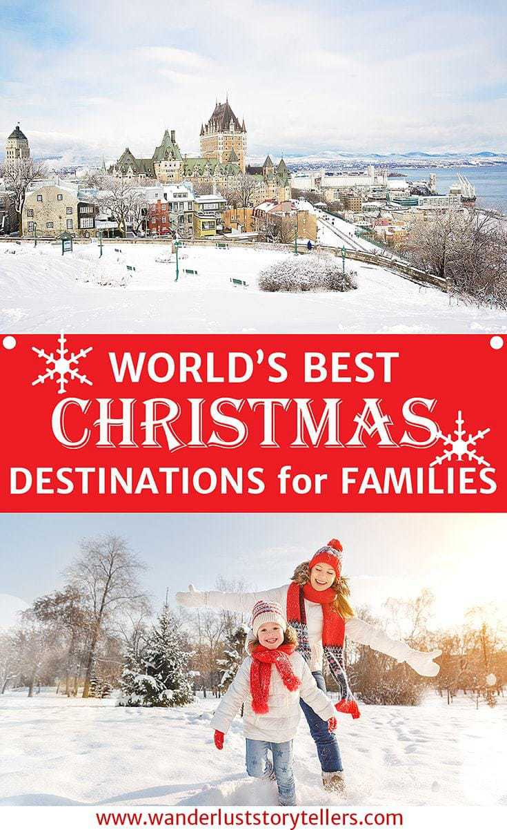 please pin me - Best Christmas Getaways