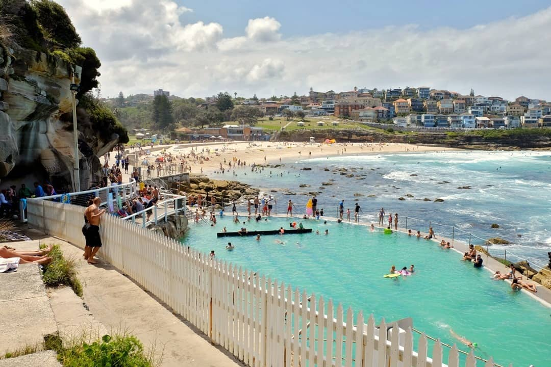 Bondi coastal walk to Bronte Beach