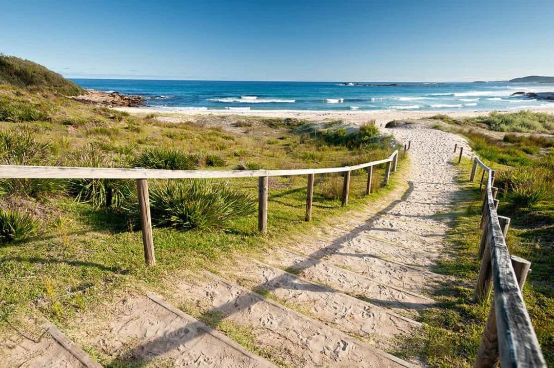 Nudist beach australia nsw