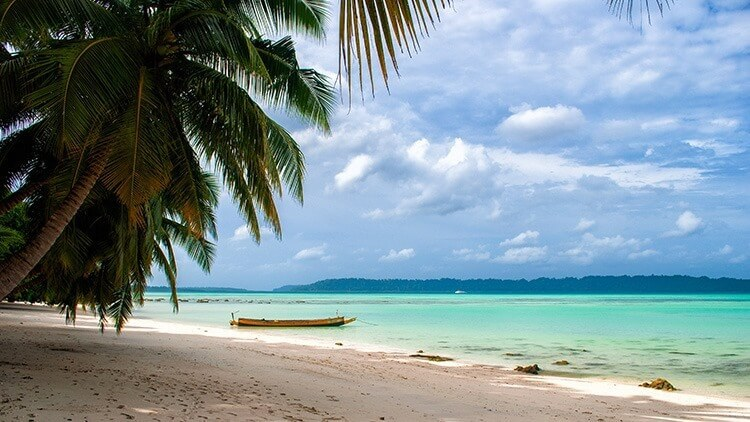 Beach in Havelock Island, India