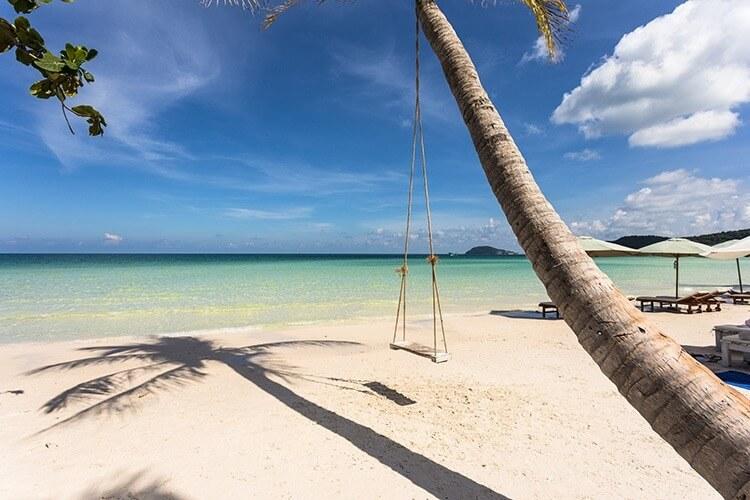Stunning Sai Bao beach in Phu Quoc island in Vietnam