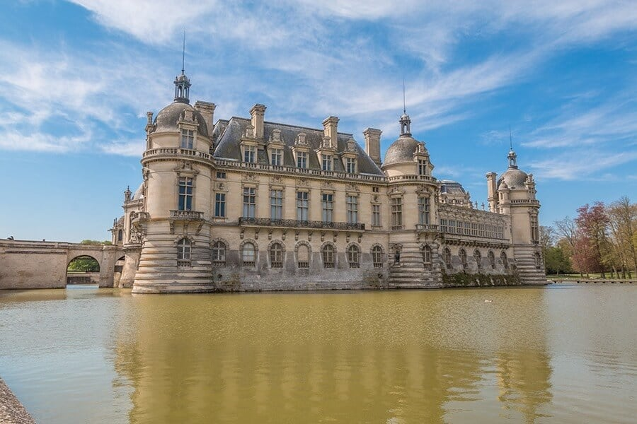 Chateau Chantilly in France