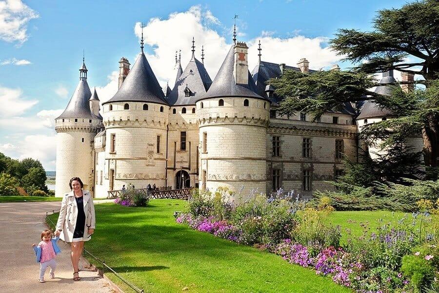 Chateau De Chaumont France with Kids