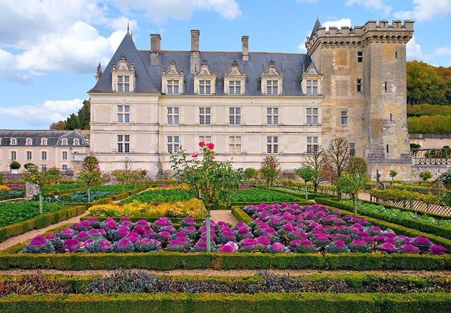 Jardins du château de Villandry, Château de la Loire