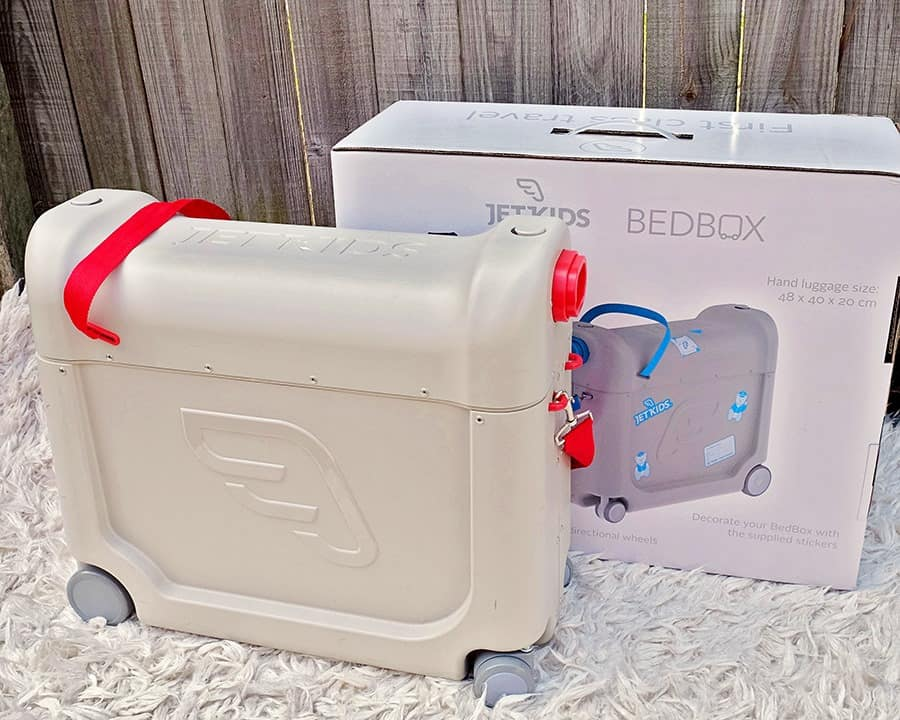 Flying Experience With Your Young Child Just That Bit Easier JetKids Bed Box Review