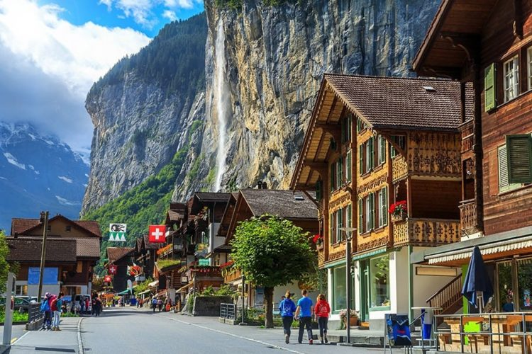 The most amazing places in Switzerland