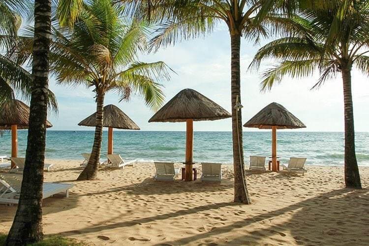 Phu Quoc island beach at Vietnam