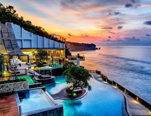 Anantara Uluwatu Bali Resort Beach Side
