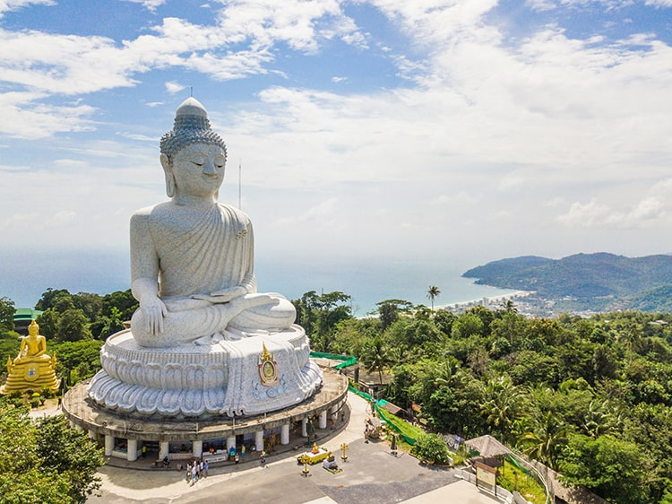 The Big Buddha in Phuket