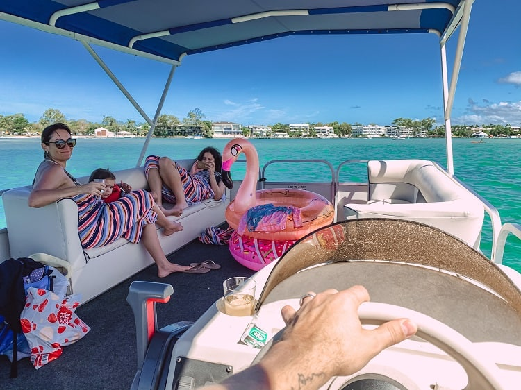 Things to do in Noosa with Kids - O Boat Hire on Noosa River in Noosaville