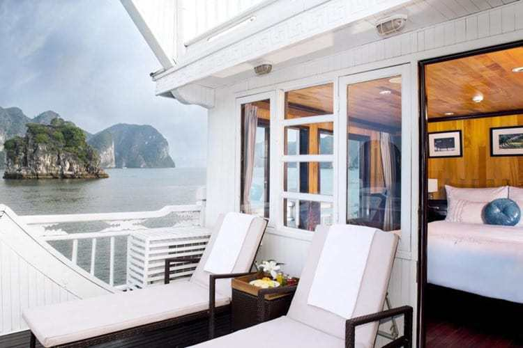 Aphrodite Cruise Halong Bay Terrace Rooms