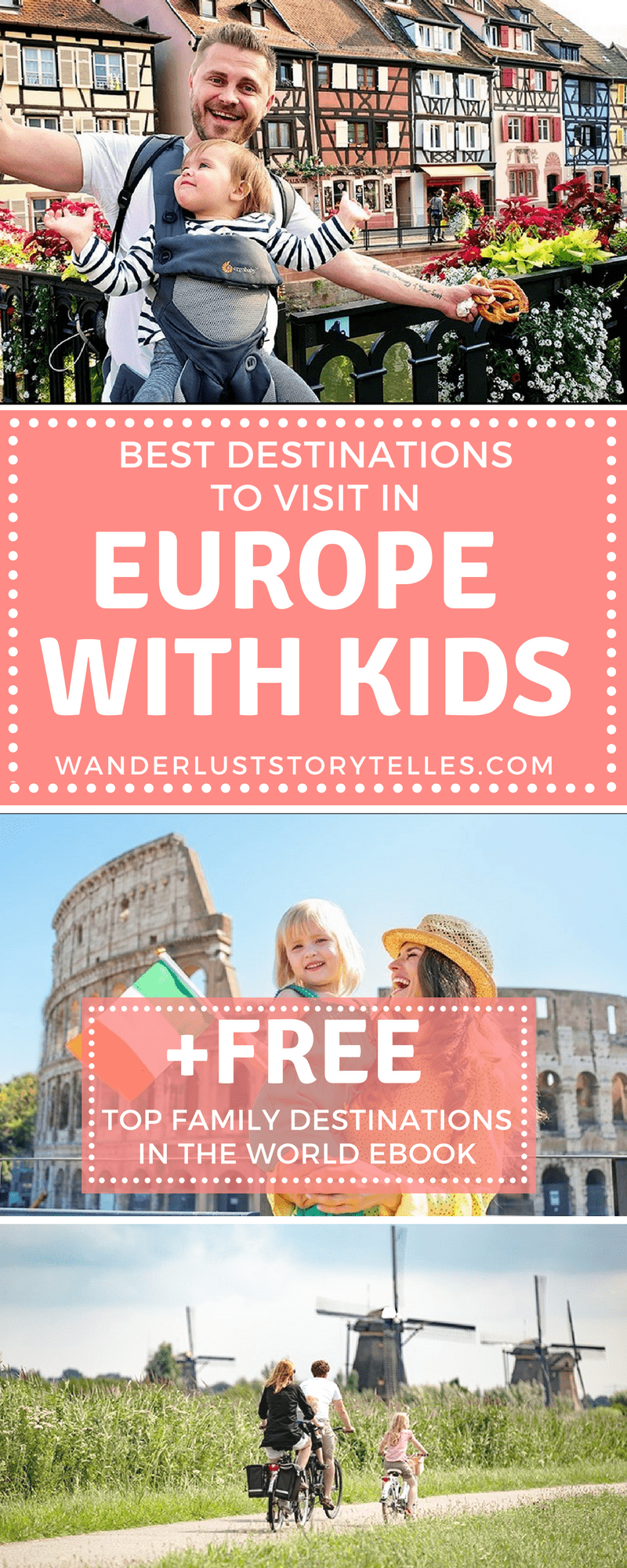 Click to see a list of 11 of the best destinations to visit in Europe with kids! PLUS get your free Ebook to see the best family destinations across the world! .......................................................................................................... Family Holiday Destinations | Europe Family Trip | Family Vacation Ideas | Europe with Kids | What to see in Europe with Kids .....................................................#europe_vacations #familytravel #travelwithkids