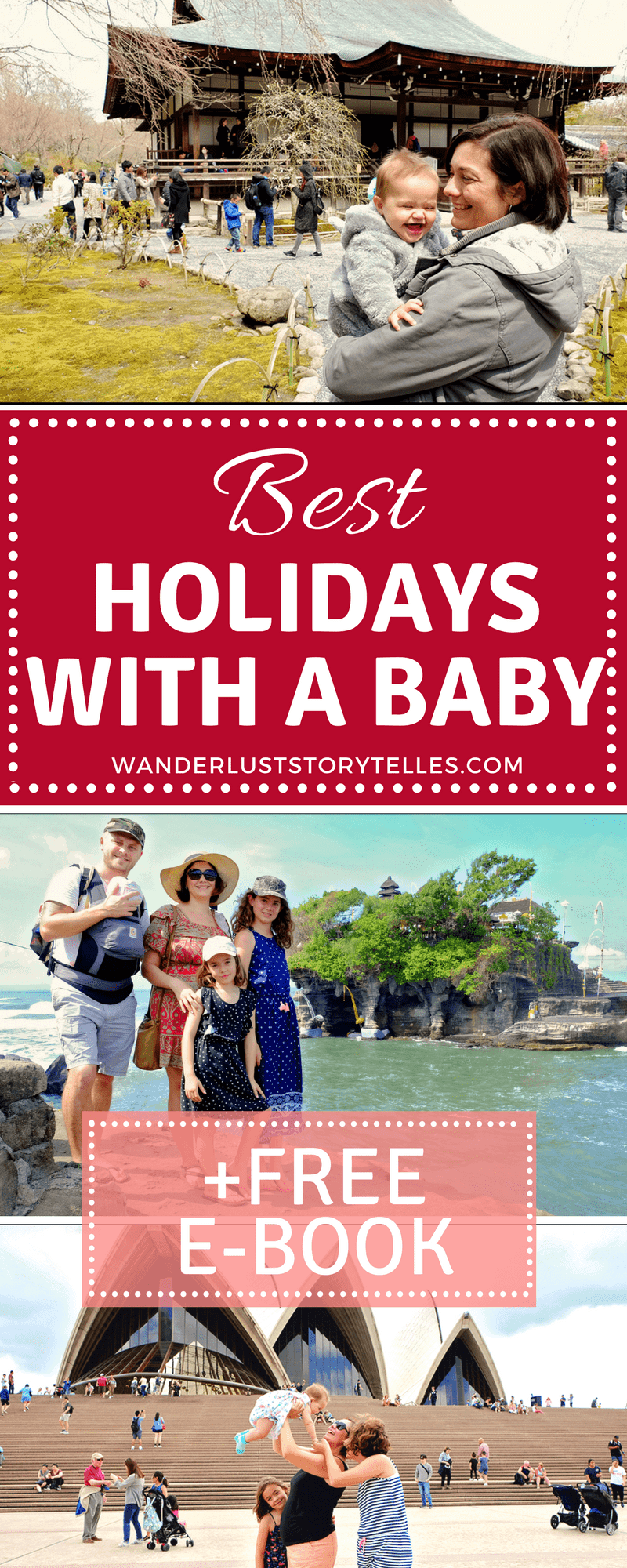 Best holidays with a baby