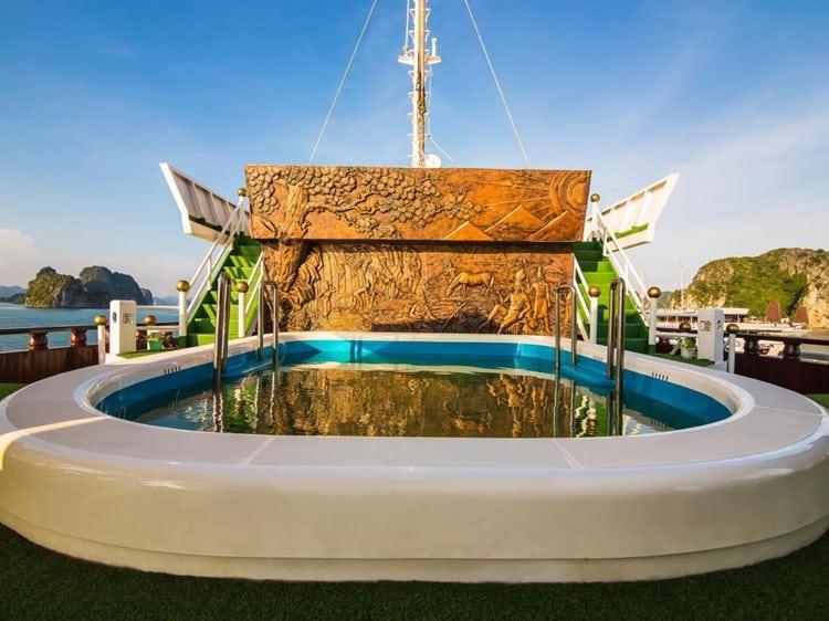 Dragon Legend Cruise Halong Bay Pool
