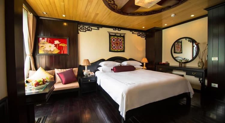 Dragon Legend Cruise Halong Bay Rooms