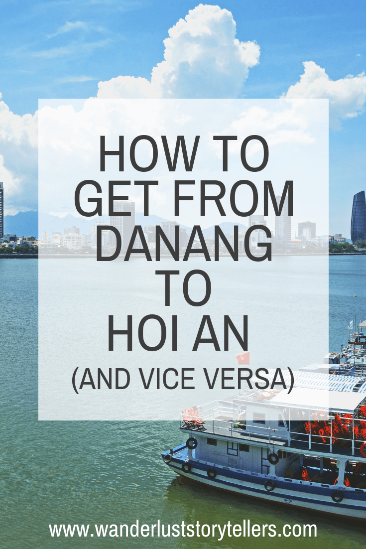 Planning your Vietnam Itinerary? Here is a great post on how to get from Danang to Hoi An. All options for your choice of budget and preferred way of transfer. #VietnamTrip #Danang #HoiAn