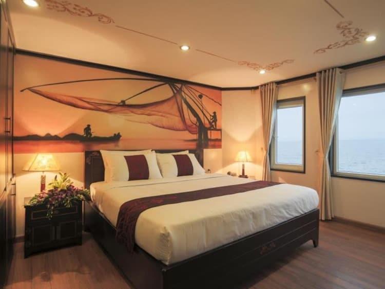 Huong Hai Sealife Cruise Halong Bay Rooms