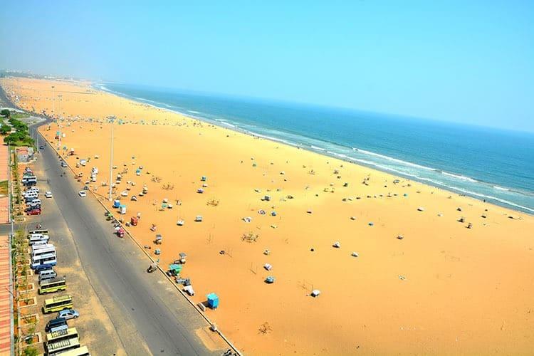 Best Time To Visit Marina Beach Chennai