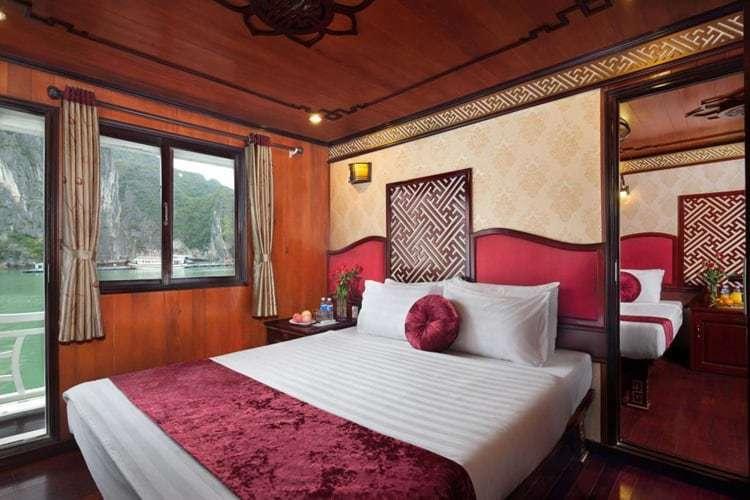 Rosa Cruise Halong Bay Rooms