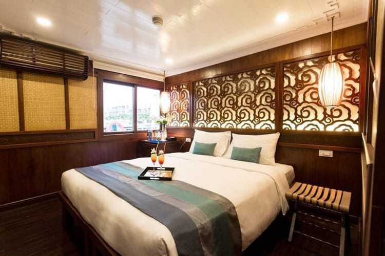 Terrace Suite with Sea View Bhaya Cruise Halong Bay