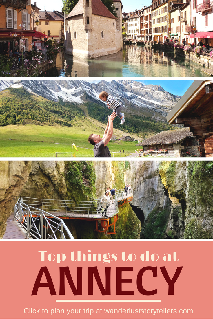 Click to read about the absolute best things to do in Annecy France. This town is pretty, but the old town section is pretty small, so we have given you other ideas of what to do in the area as well. See Annecy Lake, Annecy le Vieux & more! #france #travelblogger #annecy