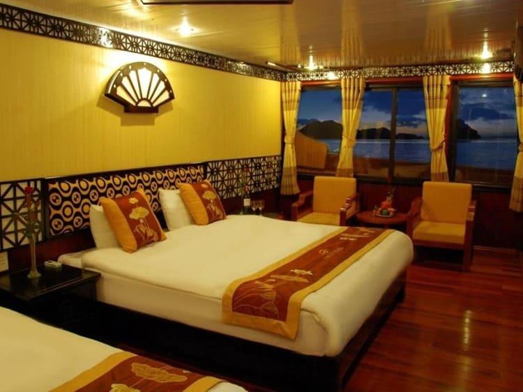 V Spirit Cruise Halong Bay Rooms