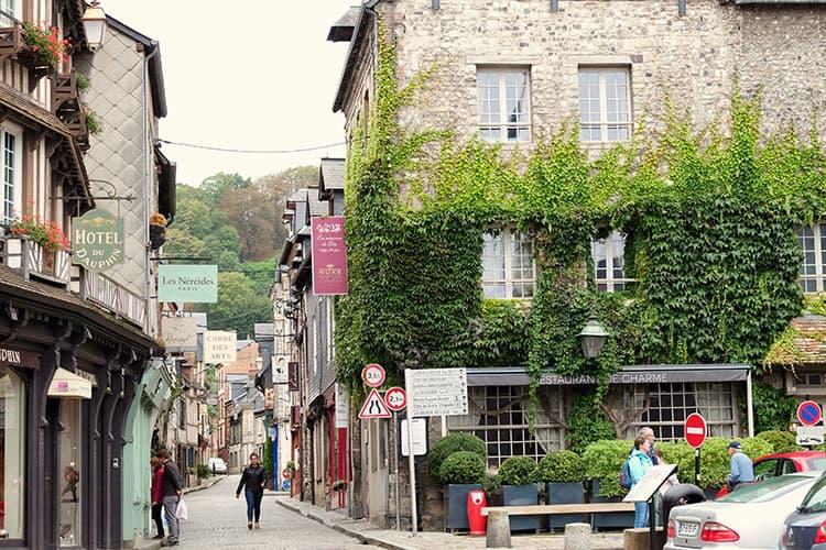 Alleys of Honfleur France