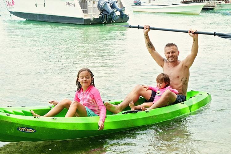 Aore Island Kayaking