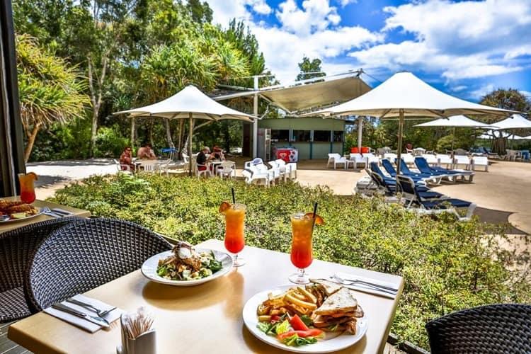 Kingfisher Bay Fraser Island Food 2