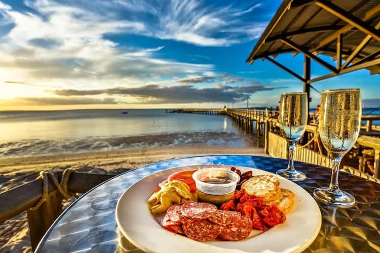 Kingfisher Bay Fraser Island Food