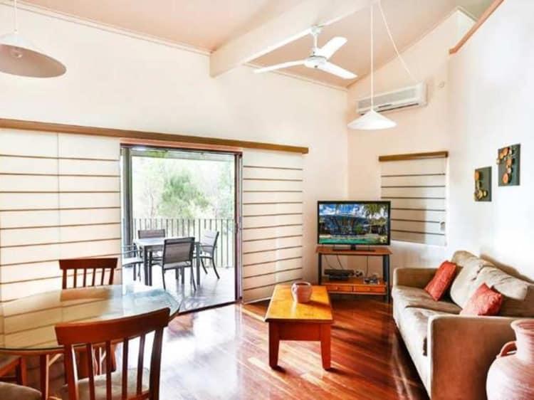 Kingfisher Bay Fraser Island Living Room