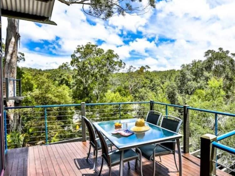 Kingfisher Bay Fraser Island Private Terrace