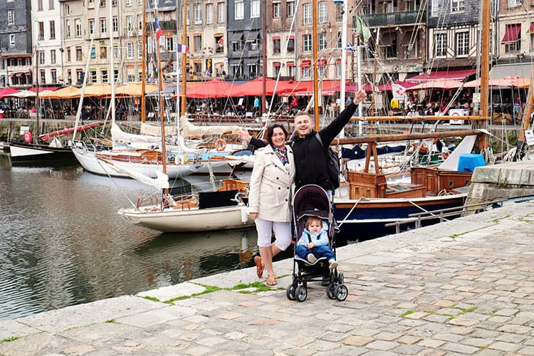 Our visit to Honfleur France