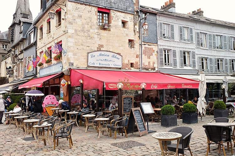 Restaurants in Honfleur