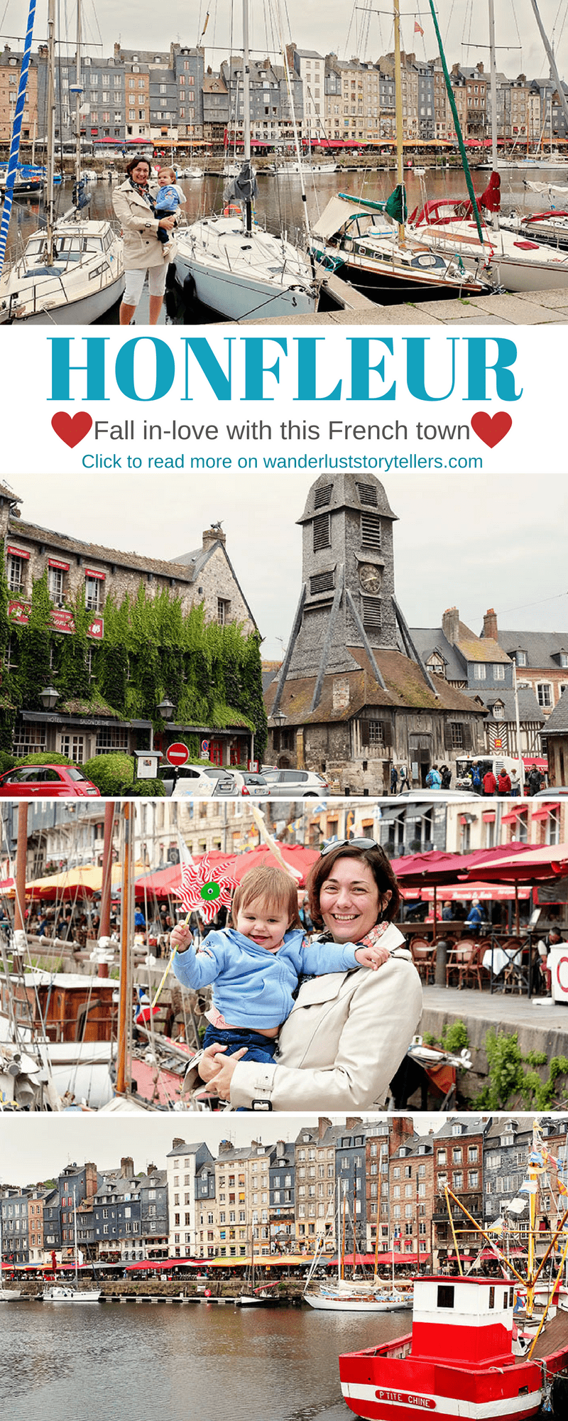Reasons why you will fall in love with Honfleur, Normandy in France. It must be one of the cutest French town and one of the most beautiful places in France! Click to see why you will love this town. #francetravel #normandie #travelblog