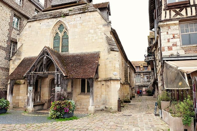 church in Honfleur