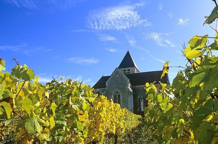 Chapelle de préhy dans le chablis, Bourgogne