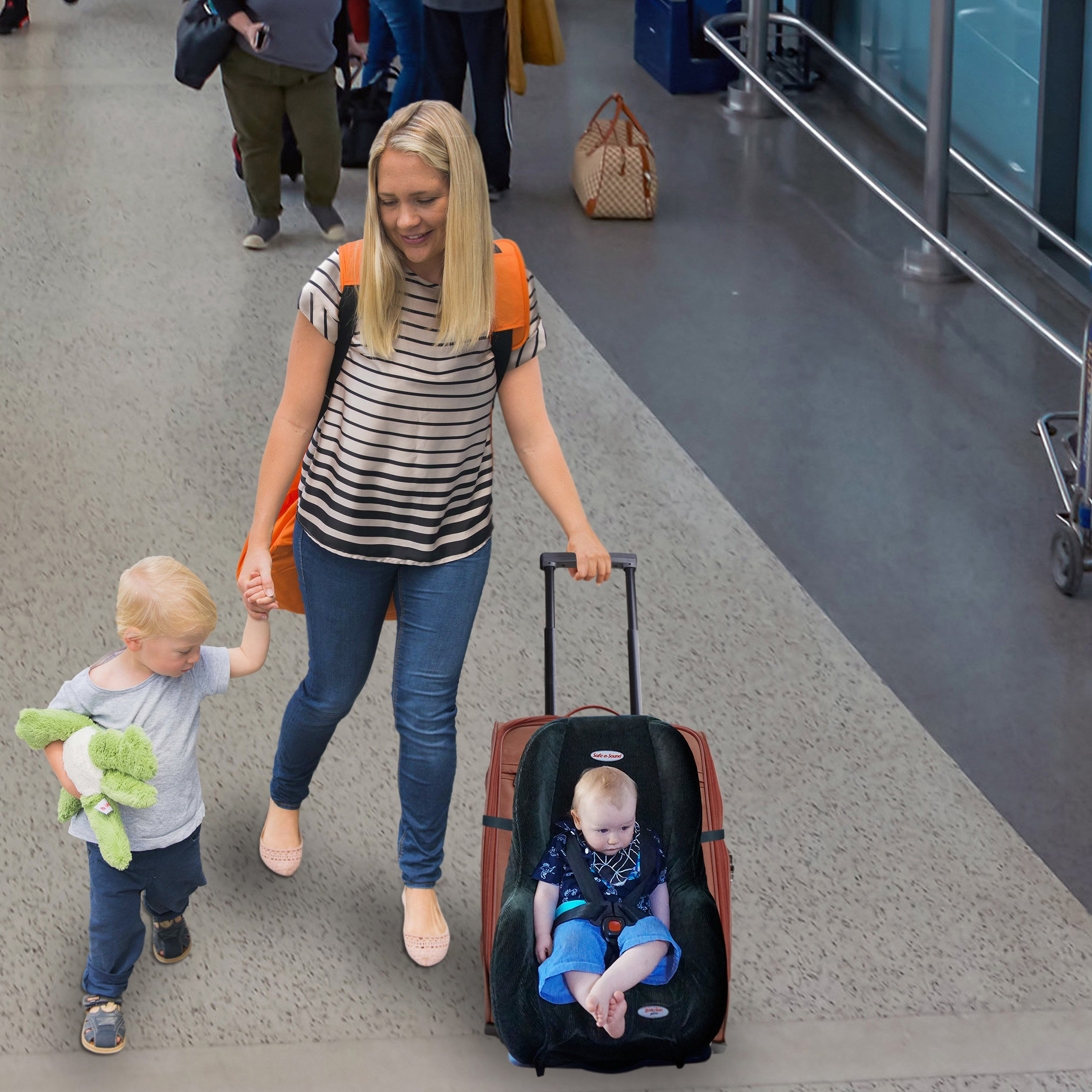 Tips For Using A Car Seat On An Airplane