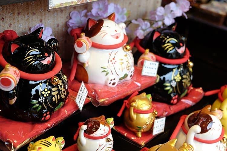 Cat Souvenirs in Kurashiki