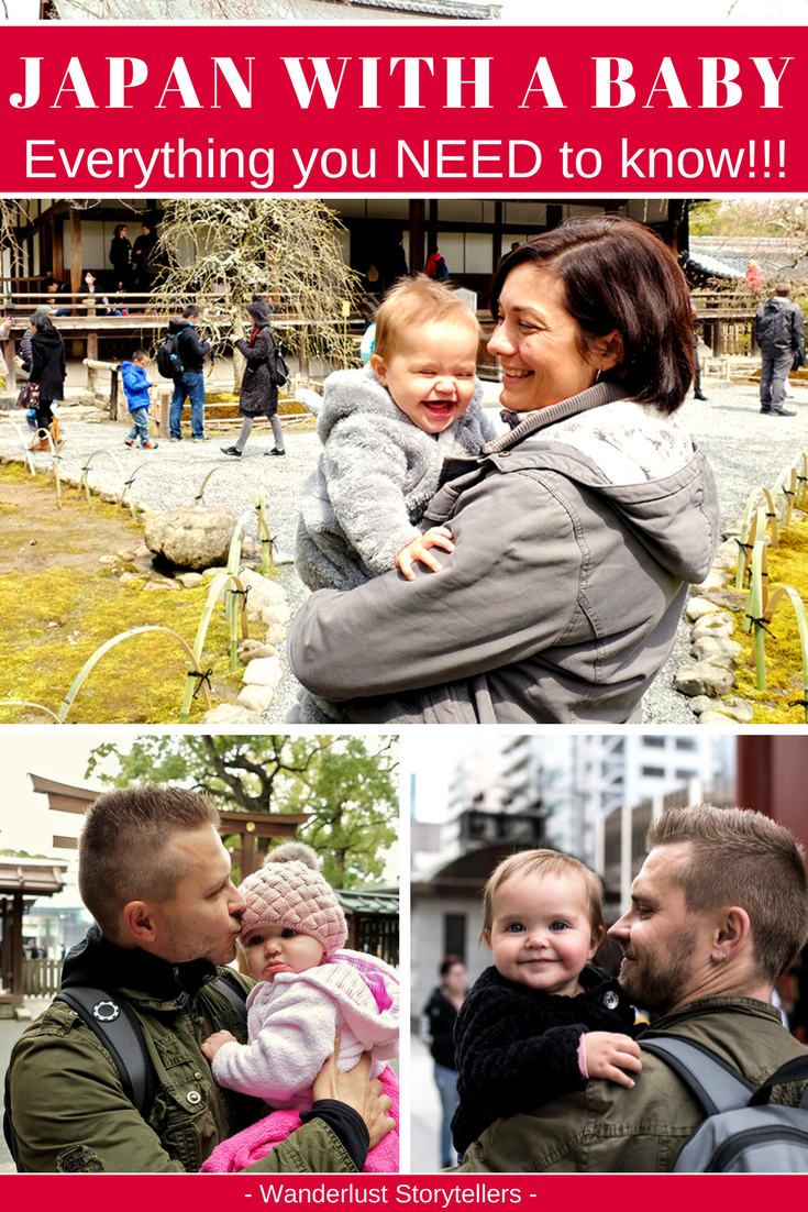 Everything you need to know for your trip to Japan with your baby! Tips on where to stay, how to travel around, where to get baby food, diapers and more! Click to get some tips. ---------------------------------------------------- Japan Baby Travel Guide | Japan Holiday | Japan Travel | Travel with Baby | #japan #JapanTravel #Baby