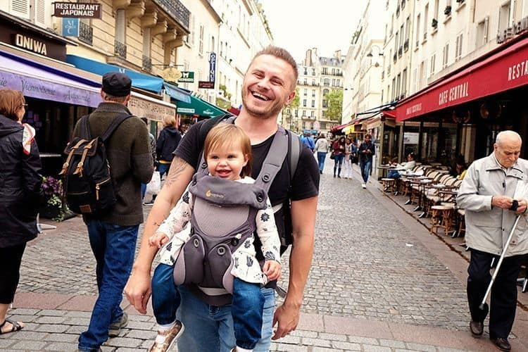 Paris with a Baby Guide