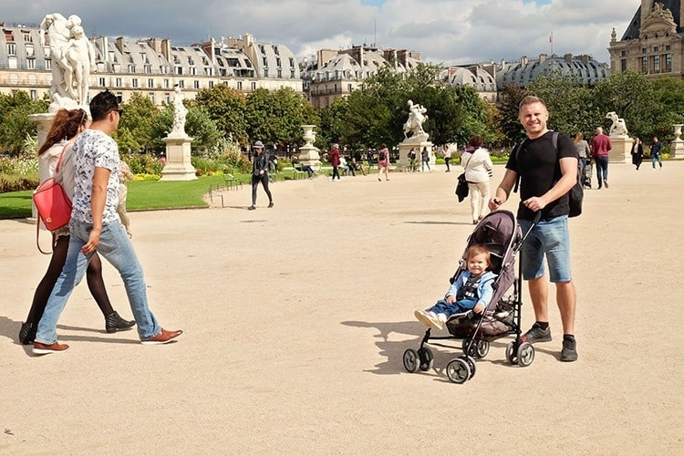 Paris with a Baby Stroller